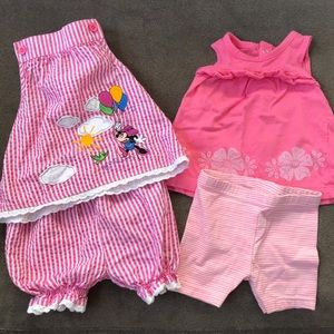 Set of 2 Baby Summer Outfits